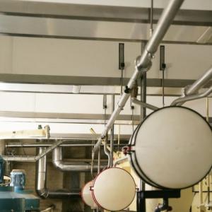 realisaties speciale afwerking - uitwerken balken chcoladefabriek